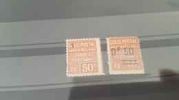 LOT 390525 TIMBRE DE FRANCE NEUF** N°55/57 VALEUR 15 EUROS - Pacchi Postali