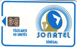 Senegal Phonecard - Superb Fine Used 40u ((Schlumberger) S15 - Senegal