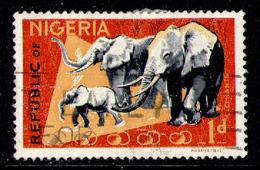 NIGERIA 1965 - (1969 Perf. 13.5 X 14.0) From Set Used - Nigeria (1961-...)