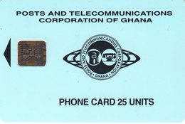 Ghana Phonecard - Superb Fine Used U ((Schlumberger) S14 - Ghana