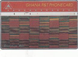 Ghana Phonecard Used 120u - Ghana