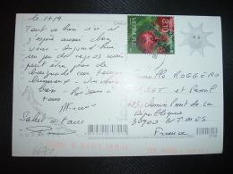 CP Pour La FRANCE TP REPUBLIKA HRVATSKA FLEURS 3,10 OBL.20 09 10 OREBIC - Autres - Europe