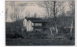 Cpa - Pontaumur - Moulin D'en Haut - - Autres Communes