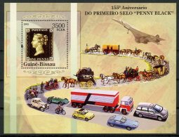 Guinea Bissau, 2005, Penny Black, Concorde, Coach, Cars, Automobiles, MNH, Michel Block 534 - Guinea-Bissau
