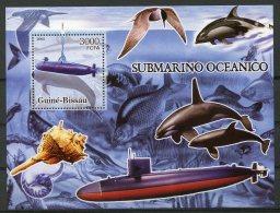 Guinea Bissau, 2005, Submarines, Boats, Ships, Navy, MNH, Michel Block 548 - Guinea-Bissau