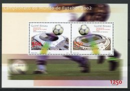 Guinea Bissau, 2002, Soccer World Cup Japan Korea, Football, Sports, MNH, Michel Block 377 - Guinée-Bissau