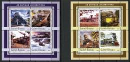 Guinea Bissau, 2003, Locomotives, Trains, Railways, Railroads, MNH, Michel 2140-2147 - Guinea-Bissau