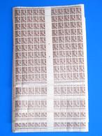 LOT DE 5 FEUILLES 1c  MERCURE N° 404 NEUVES ..EN L ETAT .. CD 13.3.39 ..PAYPALL EN + - Feuilles Complètes