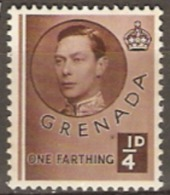 Grenada  1937  SG 152a  1/4d   Unmounted Mint - Grenada (...-1974)