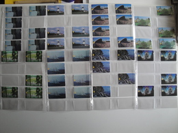 47 Magnetic Alcatel Phonecards From Estonia - With Very Difficult Cards - Estonia