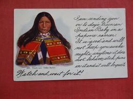 Embossed Touch-i-goo Indian Squaw  Ref 2894 - Indiens De L'Amerique Du Nord