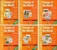 STANLEY GIBBONS Catalogus Worldwide Edition 2014 Set A-Z  6 Ebooks In 3 DVD - PDF - Postzegelcatalogus