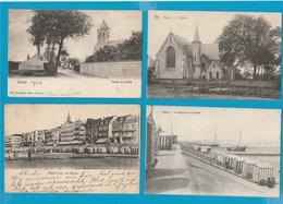 KNOKKE - HEIST Lot Van 120 Postkaarten - Postcards