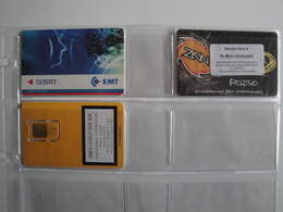 3 Phonecards From Estonia - Difficult Cards ( SIM Used) - Estonia