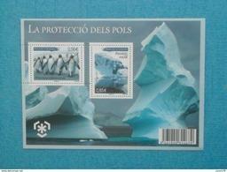 B.F  Neuf Xx TTB. ANDORRE FRANCAIS -   LA PROTECCIO DELS POLS - Preservare Le Regioni Polari E Ghiacciai