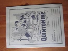 Protège Cahier Quintonine Donne Bonne Mine - Noir -  EFGE - Tres Bon Etat - Protège-cahiers