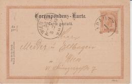 Austria - 1893 - Radautz - Wien - Postal Stationery, Used, Cover, Document - Storia Postale
