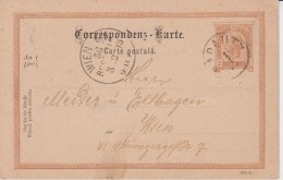Austria - 1893 - Radautz - Wien - Postal Stationery, Used, Cover, Document - 1850-1918 Impero