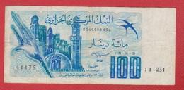Algérie /Pick 131 /  100 Dinars 1-11-1981 / TB - Algeria