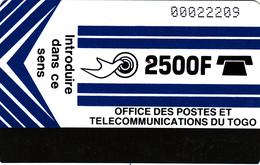 Togo- Superb Fine Used Phonecard - Togo