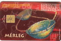 Hungary - Zodiac Libra Superb Fine Used Phonecard - Hungary