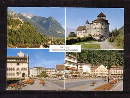 122g * VADUZ * FÜRSTENTUM LIECHTENSTEIN * IN 4 ANSICHTEN **!! - Liechtenstein