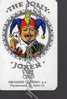 8-397 CZECH REPUBLIC 2004 -  Cca 8,3x5,3cm  The Jolly Joker - OTK Kolin Obchodni Tiskarny Kolin - Kalender