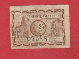 Belgique  / Wetteren /  25 Centimes 1918 / TB - Belgium