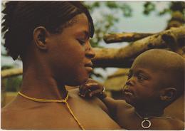 Afrique,TOGO,prés Du Bénin,ghana,maman Peulhe,avec Enfant,beauté Africaine,et Femme D'affaire,avec Collier - Togo