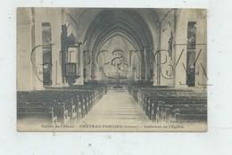 Château-Porcien (08) : L'intérieur De L'église En 1910 PF - Chateau Porcien