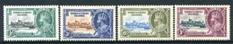Turks And Caicos Islands 1935 KGV Silver Jubilee Set HM (SG 187-90) - Turks And Caicos