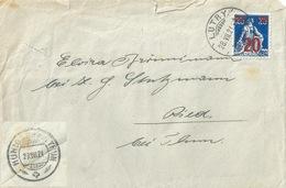 Brief  Lutry - Ried Bei Thun             1921 - Briefe U. Dokumente