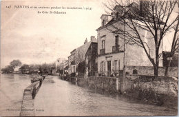 44 NANTES - Crue De 1904 - La Cote Saint Sébastien - Nantes