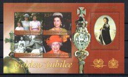 Papua New Guinea - 2002 - Golden Jubilee Minature Sheet - MNH - Papouasie-Nouvelle-Guinée