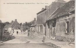 80 - DAVENESCOURT - La Rue Du Four - France
