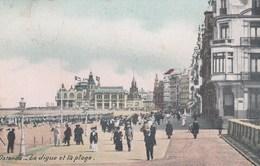 OOSTENDE / ZEEDIJK EN STRAND / KURSAAL 1911 - Oostende