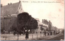 44 NANTES - Le Château Au Quai Du Port Maillard - Nantes