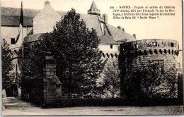 44 NANTES - Le Château, Facade Et Entrée - Nantes