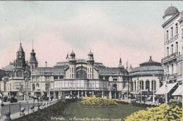 OOSTENDE / KURSAAL EN BEGIN LEOPOLDLAAN 1911 - Oostende