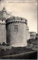 44 NANTES - Le Château, Les Tours Des Jacobins Et D'angle - Nantes