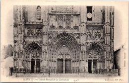 44 NANTES - Le Grand Portail De La Cathédrale - Nantes