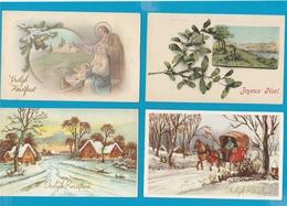 KERST EN NIEUWJAAR Lot Van 140 Postkaarten - Postcards