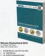 Münzen Deutschland/EURO MICHEL 2018 New 30€ D Ab 1871 3.Reich BRD DDR Numismatik Coins Catalogue 978-3-95402-230-4 - Allemand