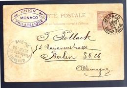 Union Monaco Philatélique 1894 > Berlin (toned) (48) - Postal Stationery