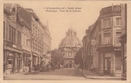 SCHERPENHEUVEL / MONTAIGU / STATIE STRAAT / RUE DE LA STATION  / BENZINEPOMP CALTEX - Scherpenheuvel-Zichem