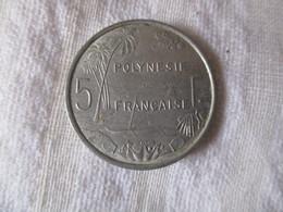 Polynésie Française: 5 Francs 1977 - Polynésie Française