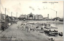 44 NANTES - Vue D'ensemble De La Gare D'orleans Et La Loire - Nantes