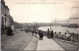 44 NANTES - Vue Générale Du Port Prise De L'ermitage - Nantes