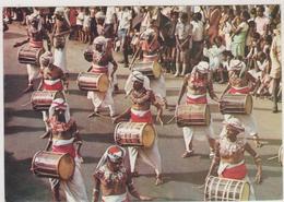 SRI LANKA,CEYLON,KANDYAN DRUMMERS  ,instuments De Musique,tambour,fete Nationale,asie,asia - Sri Lanka (Ceylon)