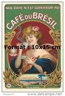 Reproduction D'une Photographie D'une Affiche Pour Le Café Du Brésil - Reproductions